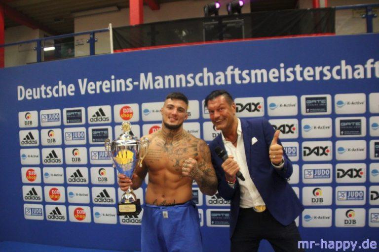Judo Bundesliga Finale Hamburg 018 Moderator Morris Teschke